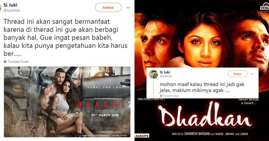 Cocoklogi 10 film India dengan kalimat mutiara ini bikin ketawa renyah