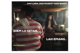 11 Meme 'Suzanna & tukang sate' versi 2018 ini bikin nyengir horor