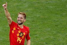 Ini 6 gaya santai bintang Belgia di Piala Dunia liburan di Bali
