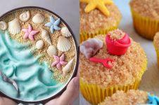 10 Kreasi makanan bertema pantai ini instagramable dan ngegemesin pol