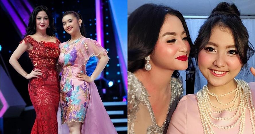 10 Potret kompak Dewi Perssik & keponakannya yang jago nyanyi dangdut