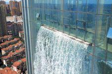9 Penampakan air terjun tertinggi di dunia buatan manusia, menakjubkan