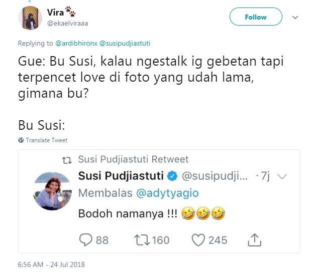 curhat Bu Susi © 2018 Twitter