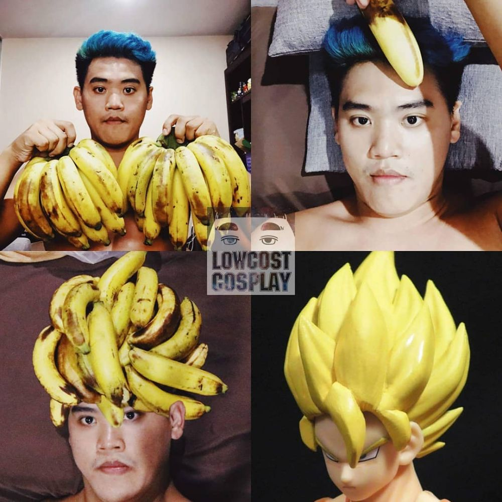 cosplay pisang @lowcost_cosplay