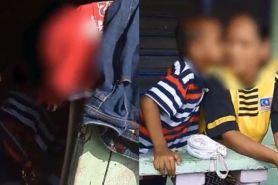 Suami dipenjara, ibu hamil dan anaknya ini hidup di tempat mengenaskan