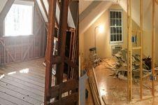 Dulu tak terurus, transformasi 10 ruangan rumah ini bikin melongo