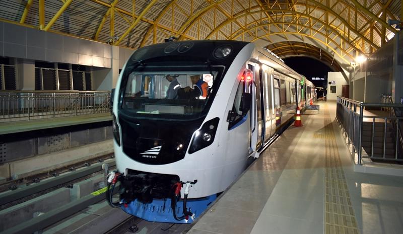 10 Foto pengerjaan LRT Palembang yang siap sambut Asian Games 2018