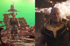 10 Adegan film Hollywood sebelum & sesudah efek CGI, bikin takjub