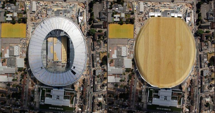 Stadion Tottenham disebut mirip toilet duduk, ini 7 penampakan aslinya