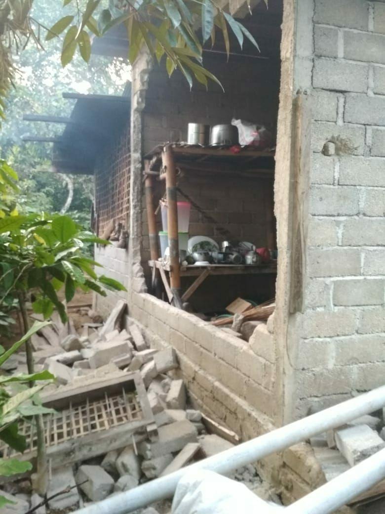 9 Potret pasca gempa pagi tadi di beberapa sudut Lombok berbagai sumber