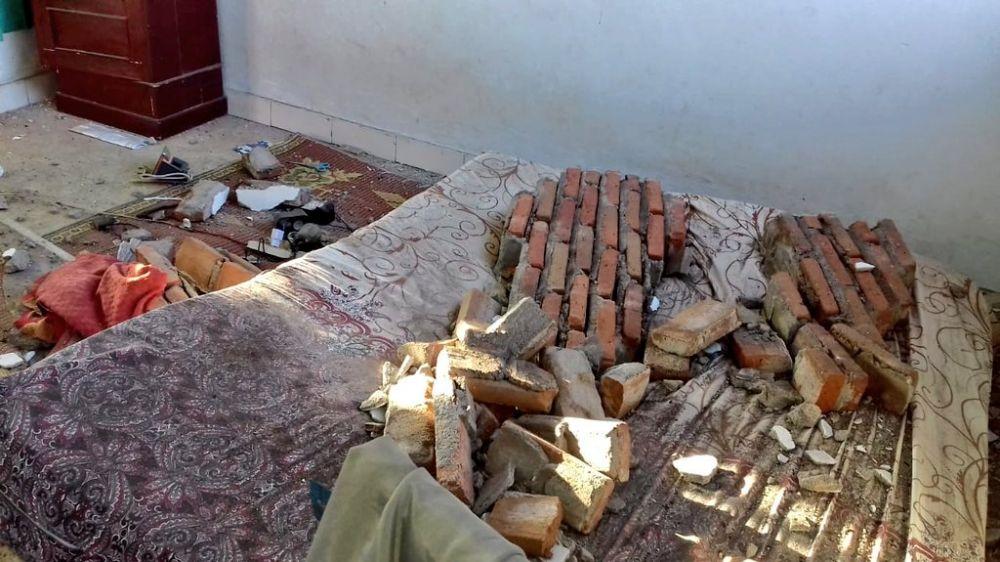 Potret pasca gempa pagi tadi di beberapa sudut Lombok berbagai sumber