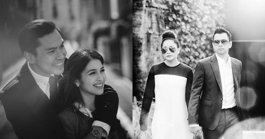 Gaya 8 pasang seleb prewedding berkonsep hitam putih, mana favoritmu?