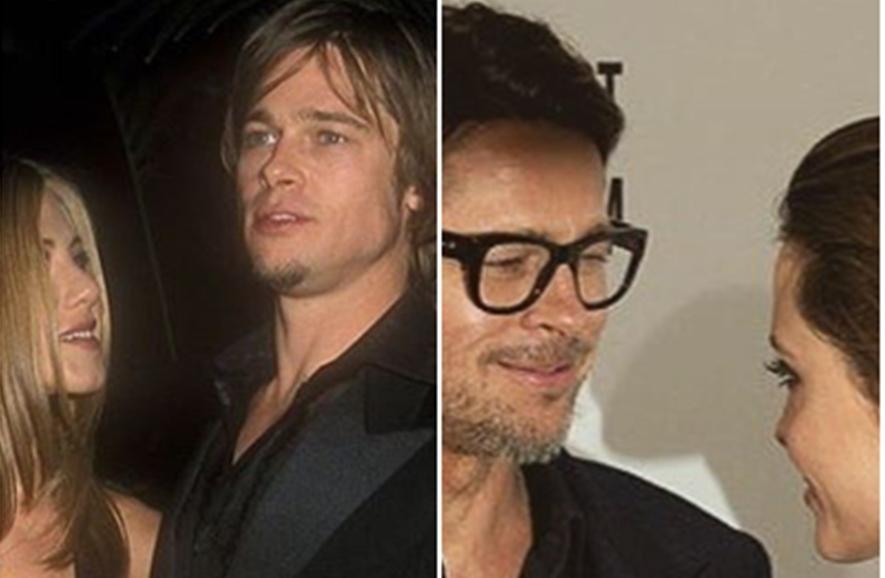Viral, 7 foto Brad Pitt yang ubah gaya sesuai wanita yang dikencaninya
