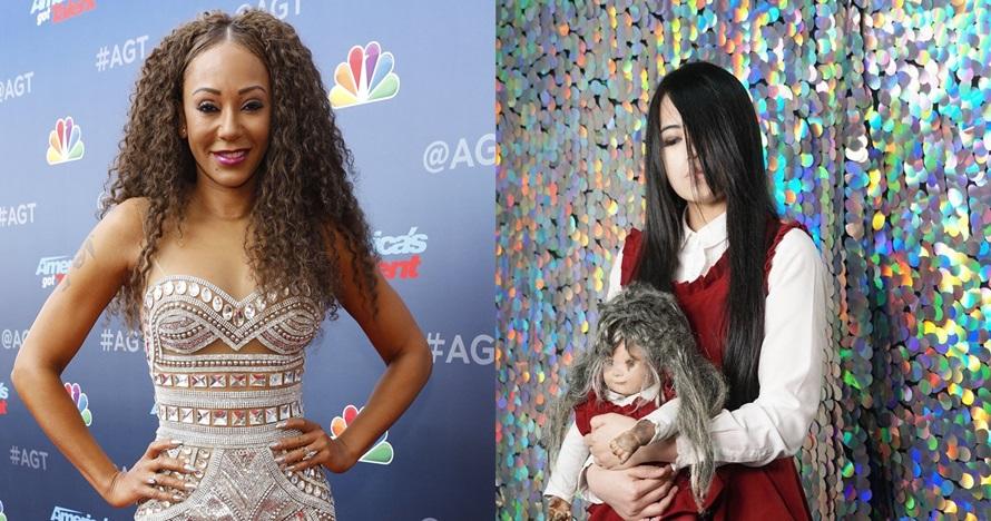 6 Momen Mel B ketakutan diajak bermain Riana di America's Got Talent