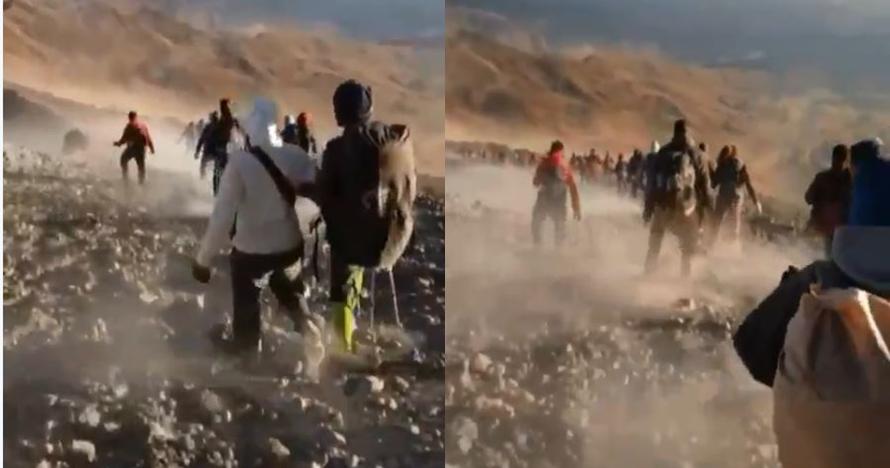 Usai gempa 6,4 SR, 2 tewas dan 689 pendaki masih terjebak di Rinjani