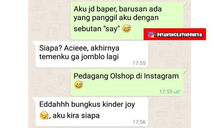 jangan terlanjur baper © 2018 instagram