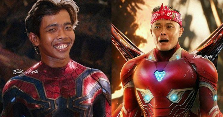 7 Editan foto komedian Indonesia jadi superhero, kocaknya minta ampun