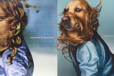Anjing ini tiru 9 pose ikonik Madonna, hasilnya bikin takjub