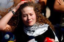 10 Momen haru pembebasan remaja Palestina usai ditahan Israel 8 bulan
