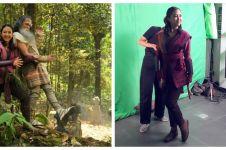 10 Aksi Sherina saat syuting film Wiro Sableng 212, jago silat