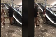 Ini akibatnya kalau suka iseng main di eskalator, fatal