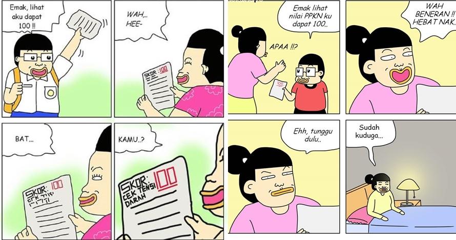 7 Komik strip 'susahnya jadi orangtua', bikin senyum sekaligus kesel