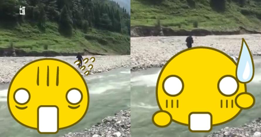 Cuci mobil mewahnya di sungai, nasib pria ini nggak bakal kamu sangka