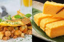 5 Kreasi omelet dari berbagai negara ini siap goyang lidahmu