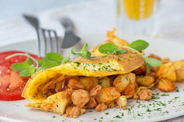 5 Kreasi omelet © 2018 Istimewa