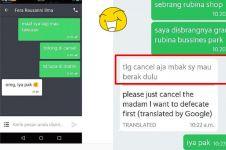 7 Chat driver ojek online batalkan orderan ini alasannya ngeselin abis