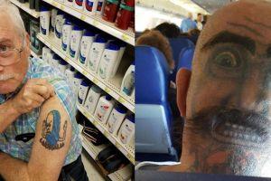 Gagal terlihat garang, 8 tato nggak jelas ini malah buat cengar-cengir