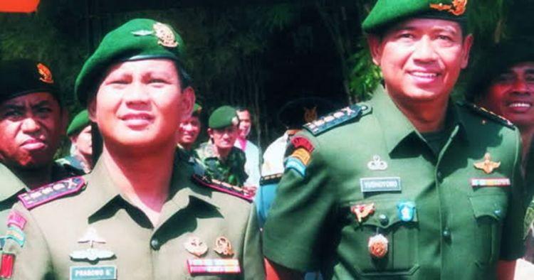 Prabowo dan SBY koalisi, ini 7 foto kenangan mereka saat masih di TNI