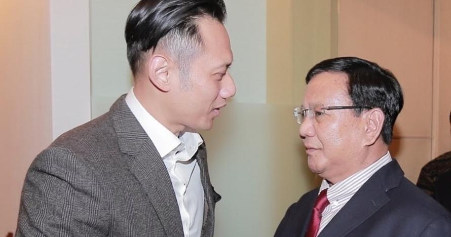 Diajukan cawapres, ini 5 momen kebersamaan Agus Yudhoyono dan Prabowo