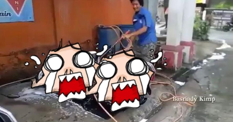 Beda Dari Yang Lain Cuci Motor Di Tempat Ini Bikin Geleng Kepala
