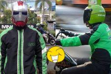 7 Helm ala driver ojek online ini bikin penumpang ketawa sampai tujuan