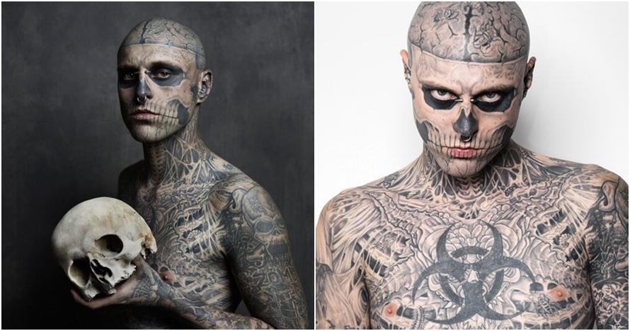 Depresi, model tato sebadan terkenal ini ditemukan bunuh diri