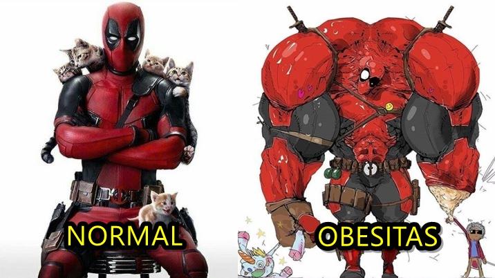 Kelakuan kocak 10 superhero jika derita obesitas, bikin geleng-geleng