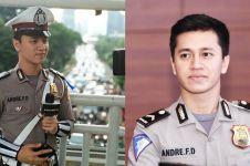10 Pesona Bripda Andre, polisi ganteng yang bikin kamu semangat 86!