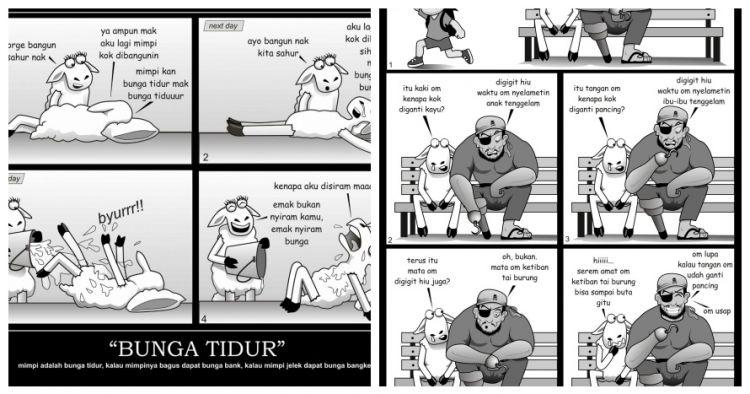 10 Komik absurd domba ini bikin kamu geli sambil ngunyah