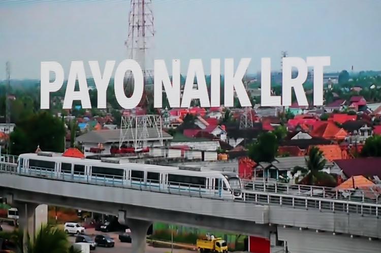 LRT Sumsel resmi beroperasi, transportasi keren saat Asian Games