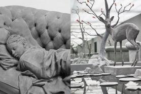 Persis aslinya, 10 karya patung seniman ini detailnya keren abis