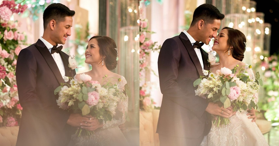 10 Momen resepsi pernikahan Tasya Kamila & Randi, bak negeri dongeng