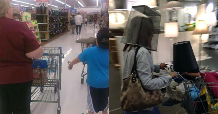 9 Kelakuan emak-emak di supermarket, pengen ketawa tapi takut durhaka
