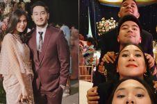 Gaya 10 seleb hadir di pernikahan Tasya Kamila & Randi, serasa reuni
