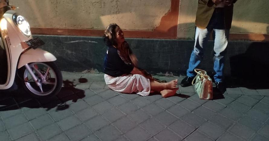 Bak kisah Malin Kundang, ibu ini tak diakui anaknya karena malu