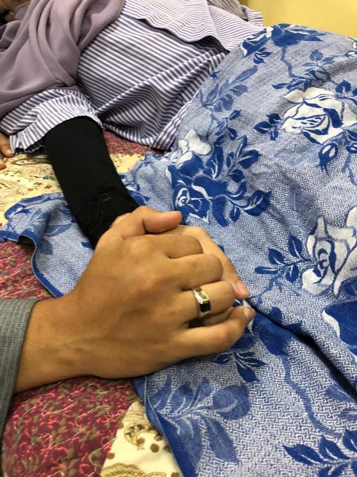 belum 24 jam menikah fatin meninggal  © 2018 brilio.net