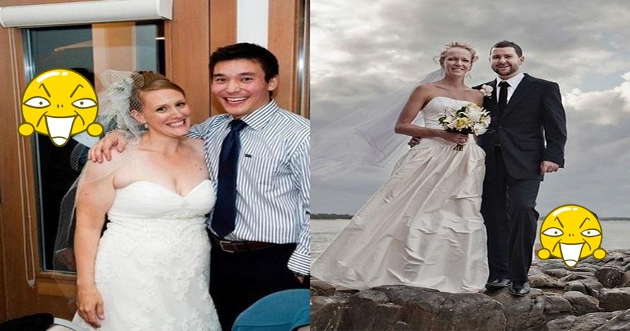 10 Photobomb di acara pernikahan ini bikin pengen ketawa di pelaminan