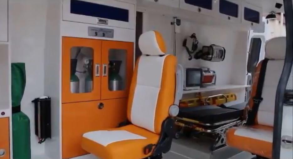 Penampakan fasilitas ambulance Asian Games  © 2018 brilio.net