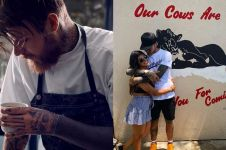 10 Gaya macho chef Robert Sandberg, pacar bintang panas Mia Khalifa