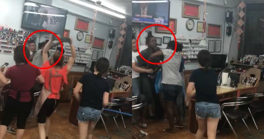 Protes alisnya dicukur botak, cewek ini malah dikeroyok pekerja salon